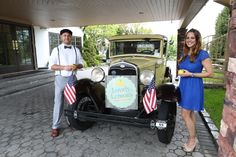 Lovely Lemons Vintage Lemonade Stand at the Riviera for a patriotic wedding!