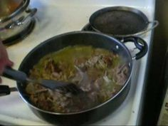 How to make Carne En Su Jugo recipe. I made this!  Super yummy and easy! This lady knows her stuff.