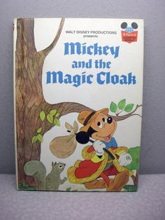 1975 Mickey and the Magic Cloak Vintage Disney Book, $6.00