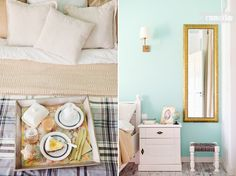 The bedroom Home decor Bedroom decor and styling Breakfast in bed