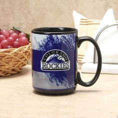 Colorado Rockies 15oz. Dad Mug