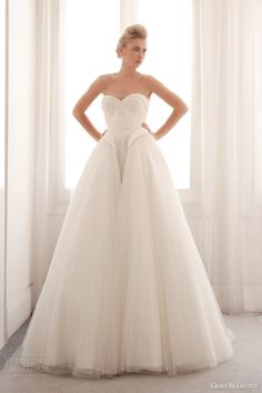 Gorgeous Gemy Maalouf Bridal 2014 Collection