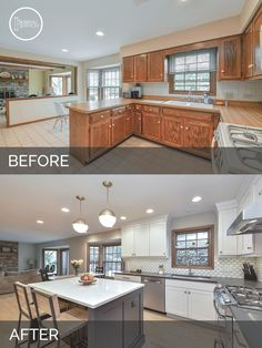 Extraordinary Kitchen design layout kitchen remodel and Small kitchen renovation budget. Kitchen Decorating, Decorating Ideas, Decor Ideas, Theme Ideas, Diy Ideas, Room Ideas, Ideas Party, Br House, Before After Home