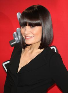 Jessie J graphic #bobwithbangs