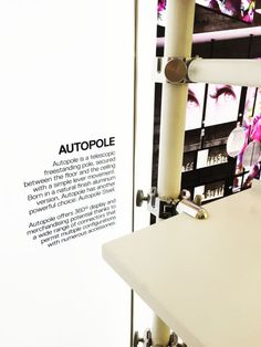 Retail Design Expo 2015 - Retail display Stand ALU - Autopole Steel