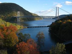 Bear Mountain Bridge spanning the Hudson River in upstate New York
