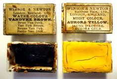 Antique watercolor paint -Winsor & Newton