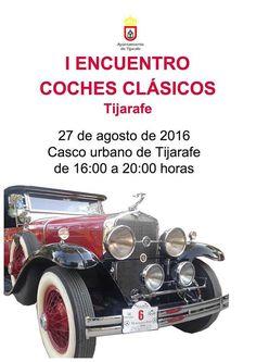 Encuentro de coches clásicos en Tijarafe