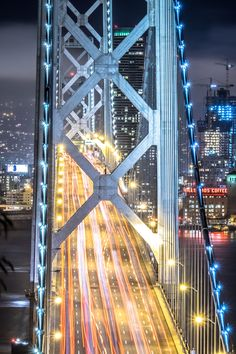 The Bay Bridge . San Francisco