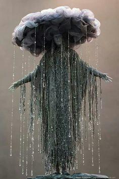 Costume idea.. Black cloud of rain.