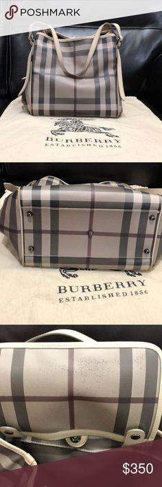Spotted while shopping on Poshmark  Authentic Burberry Nova Check Bag! 5dd83c8b94