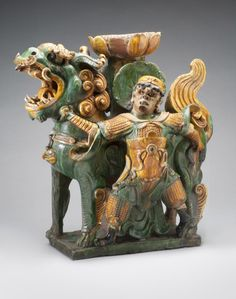 Lion and Guardian Figure Artist/maker unknown, Chinese Geography: Made in China, Asia Period: Ming Dynasty (1368-1644) Date: ...