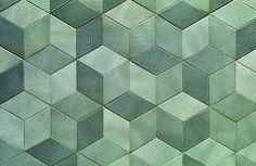 Splashback - Tex by Mutina + Raw Edges Olive  Urban Edge Ceramics - Tiles Style & Design