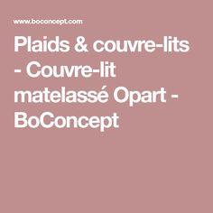 Plaids & couvre-lits - Couvre-lit matelassé Opart - BoConcept
