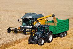Comia C10 & C12 - NEW COMIA C10 & C12 - Combine Harvesters - Products - Sampo-Rosenlew