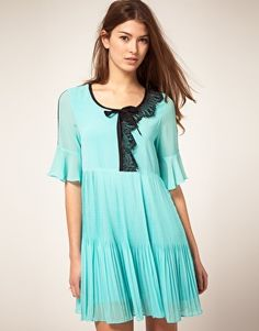 CiCi Tunic Dress With Lace