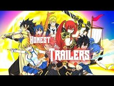 Honest Anime Trailers - Fairy Tail - YouTube