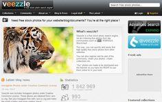 Veezzle, un buscador de imágenes libres que indexa cerca de 2 millones