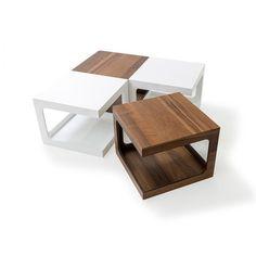 Coffee Table with Magazine Rack