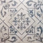 Harran Tiles GBP 19.95 sq/m 45cmx45cm Belli Moresque Encaustic Floor Tiles- Yes, there is no reason you can't use these on a shower wall. However you must make sure the wall is tanked and a cement based floor adhesive is used