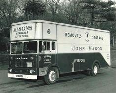 Man and Van Manchester Vintage Trucks, Old Trucks, Austin Cars, Old Lorries, House Clearance, Van Car, Heavy Duty Trucks, Busse, Commercial Vehicle