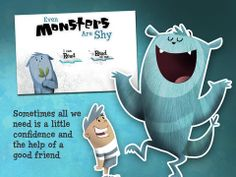 Even Monsters Are Shy by Busy Bee Studios