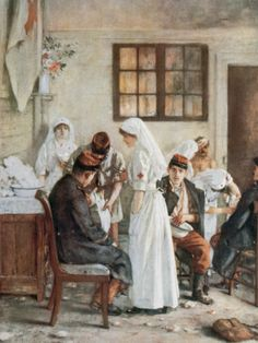 WW I nurses