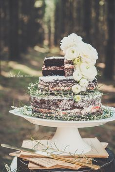 In My Dreams, There is a Cake in a Forest. — Two Loves Studio | Food Photography