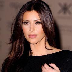 Kim Kardashian  - Dark Brown Hair