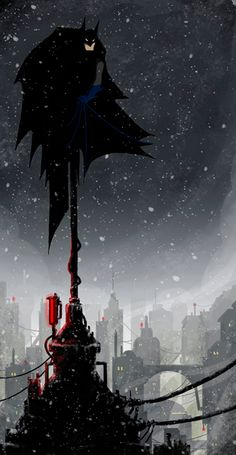 "Batman by Jérémie Decalf. Aka:""Lomki"""