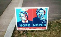 12 Funny Voting Signs Express What People Really Think About These Elections