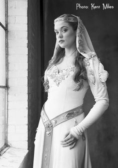 Kathryn and Alexandra - Medieval Wedding Gowns