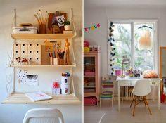 PynteMynthe og Mor: Skriveborde til børn