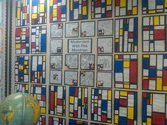 Treasure Tuesdays round 37- Piet Mondrian wall