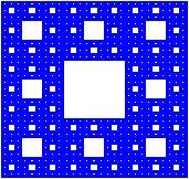 La alfombra de Sierpinksi tiene dimensión de semejanza aprox. 1.892789260 Investing, Symbols, Letters, Fractals, Icons, Letter, Fonts, Glyphs, Calligraphy