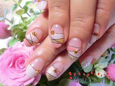 ブロッキングネイル 【NAIL JOLIE】 http://nail-beautynavi.woman.excite.co.jp/design/detail/12403?pint ≪ #nail #nails #nailart #softgel #pinknail #gelnail #ジェルネイル ≫
