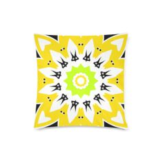 """CVAn0090 Abstract Animals Custom Zippered Pillow Case 16""""x16""""(Twin Sides)"""