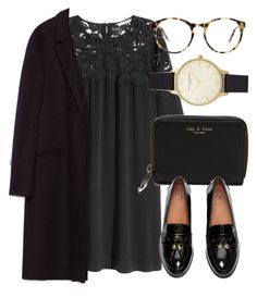 """""""Untitled #6113"""" by laurenmboot ❤ liked on Polyvore featuring H&M, rag & bone, Love, Olivia Burton and Zara"""