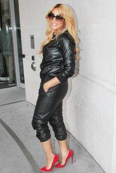 tamar-braxton-bbc-radio-1-london. love love love this outfit.