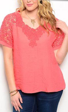 La mia scelta ed i miei gusti nel campo della moda, per classe ed elegante. Anche taglia XL. Ninni -                                                            Anderson Top in Crochet