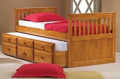 Captains Bed Twin with Twin Trundle and Drawers in Honey by Bedz King, HOME AND KITCHEN to buy just click on amazon here http://www.amazon.com/gp/product/B001B3RET0?ie=UTF8=213733=393177=B001B3RET0=shr=abacusonlines-20&=furniture=1375671133=1-37 A REAL DEAL http://a-real-deal.com