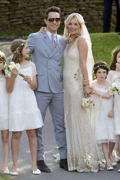 La robe de mariée de Kate Moss : vous aimez ? - Louison and so on - Le blog de Louison - Be.com