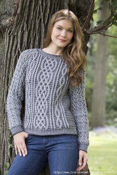 Мастера и умники: 2 весенних пуловера спицами