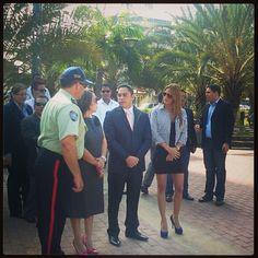 Alcalde @VHFigueredo ratifica su compromiso con la seguridad de los morreños #Lecheria #21Aniversario - @lecheria- #webstagram
