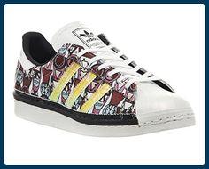 adidas , Damen Sneaker Schwarz Black Orange White - Sneakers für frauen (*Partner-Link)