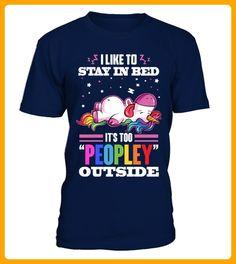 UNICORN STAY IN BED T SHIRT - Einhorn shirts (*Partner-Link)