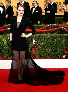 Marcy Very Much: Was The Most Interesting Dress At The SAG Awards Really A Dress? Or A Disaster?  http://marcyverymuch.blogspot.com/2015/01/was-most-interesting-dress-at-sag.html #SAGAwards #Fashion