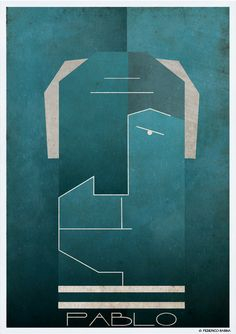 INKONIC-FACES by Federico Babina