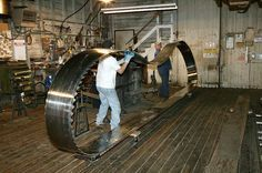 Hull-Oaks steam powered sawmill in Oregon.