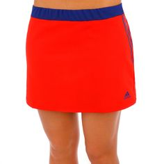 adidas Skirt Response Classical Skort Women red/blue